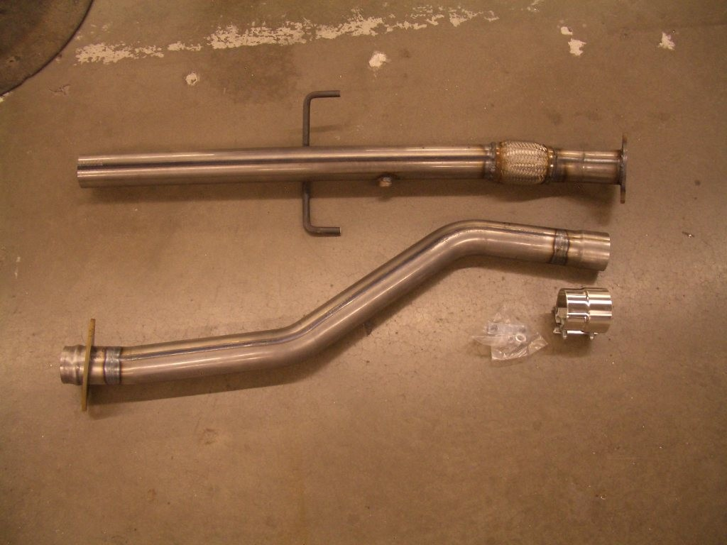 Toyota Celica GTS 2000+ midpipe for race header - 304 Stainless (1ZZ